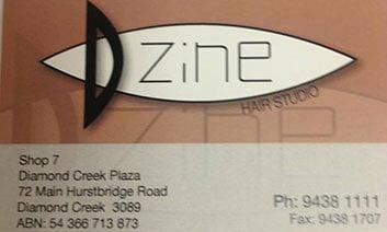 Dzine Hair Studio Logo