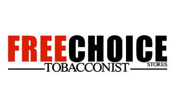 Free Choice Tabacconist Stores Logo