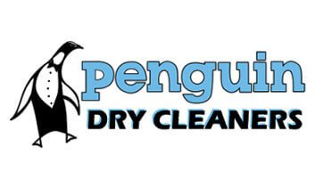 Penguin Dry Cleaners Logo