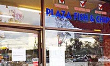 Plaza Fish and Chips Logo